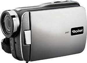 Rollei Movieline SD 40 Camcorder (5 Megapixel Kamera, 7,62 cm (3,0 Zoll) Touchpanel, Full HD, 4-fach digitaler Zoom, Micro-SD, USB 2.0) schwarz