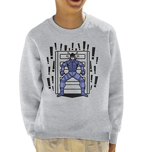 Cloud City 7 Alert Snake Metal Gear Solid Kid's Sweatshirt -