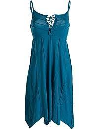 Vishes - Alternative Bekleidung - Leichtes Sommerkleid mit verstellbaren Trägern