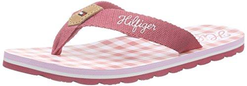 Tommy Hilfiger M3285ARLOW 3D, Mädchen Zehentrenner, Pink