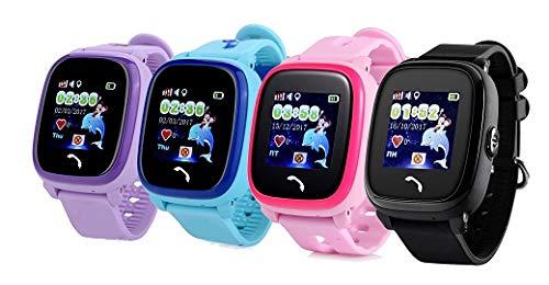 JBC GPS-Telefon Uhr – Modell 2019 – Kleiner Pirat – Wasserdicht OHNE Abhörfunktion, für Kinder, SOS Notruf+Telefonfunktion, Live GPS+LBS Positionierung, funktioniert weltweit