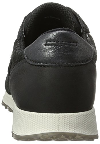 Ecco Damen Sneak Ladies Sneaker Schwarz (50046black/black-black/black)