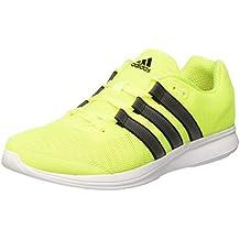 adidas Lite Runner M - Zapatillas para hombre, color lima / negro