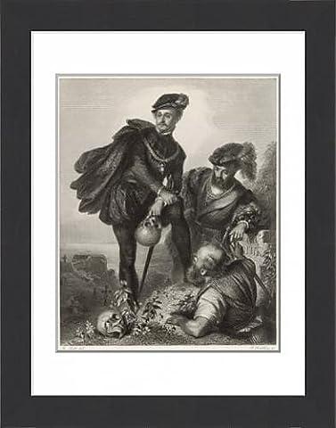 Framed Print of Scene from Shakespeare s Hamlet