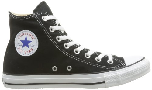 Converse As Hi 1J793, Unisex Erwachsene Sneaker Black Mono Canvas