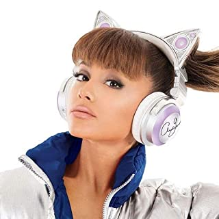 Brookstone Sonder-Edition Ariana Grande Cat-Ear Bluetooth-Kopfhörer