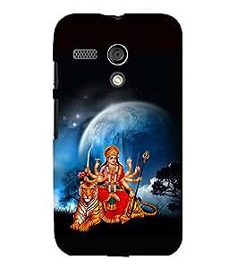 printtech Shera Wali Mata Goddess Back Case Cover for Motorola Moto G X1032::Motorola Moto G (1st Gen)