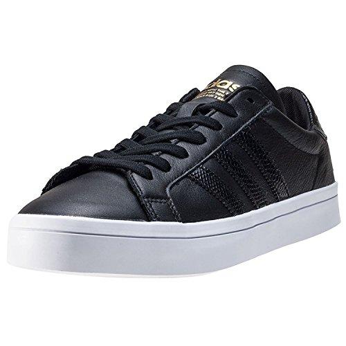 adidas BB0148 Court Vantage Sneaker Schwarz|44
