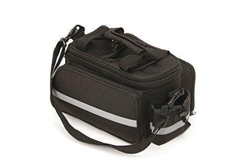 Fischer Gepäckträgertasche Tasche, Schwarz, 12 x 33 x 29 cm, 25 Liter