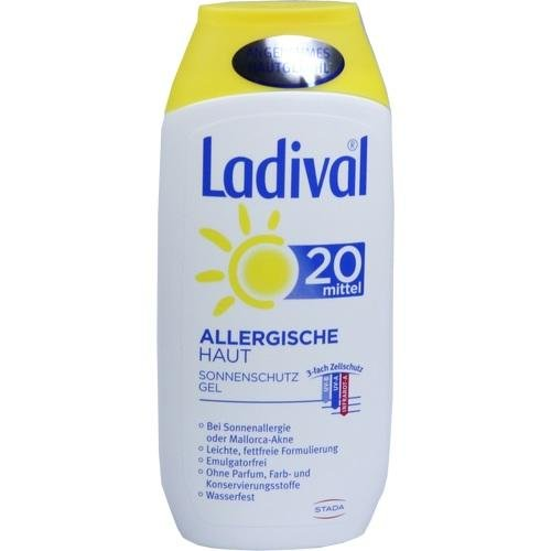Ladival allergische Haut Gel Lsf 20 200 ml