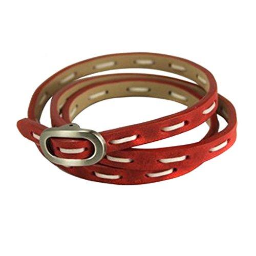 tokyobay-red-leather-stitched-wrap-bracelet