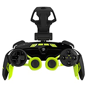 Mad Catz L.Y.N.X.3 Wireless Controller geeignet für Android and Windows, schwarz-grün
