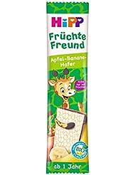 HiPP Bio-Riegel - Früchte-Freund Früchte Freund Giraffe Apfel-Banane-Hafer, 23 g