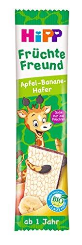 HiPP Bio-Riegel Früchte Freund Giraffe Apfel-Banane-Hafer, 22er Pack (22 x 23 g)