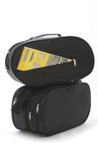 Motorradkoffer Innentaschen passend für HONDA DEAUVILLE NT 650 V, NT 700 V, Seitenkoffer --- # NO:6