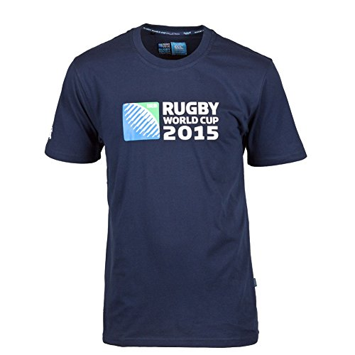 Canterbury Rugby World Cup Men's T-Shirt Logo Gr. Large, Grau - Grau - Rugby World Cup T-shirts