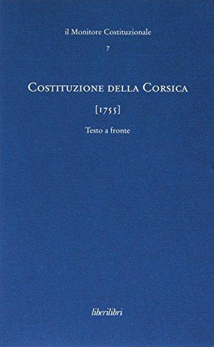 Costituzione della Corsica (1755)