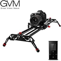 GVM Kamera Slider Track Dolly Slider Schienensystem mit motorisierten Zeitraffer und Video Shot Follow Focus Shot und 120 Grad Panorama Shooting 80cm …