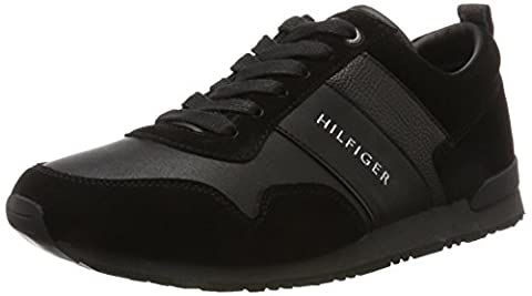 Tommy Hilfiger M2285Axwell 11C1, Baskets Basses Homme, Noir (Black), 40