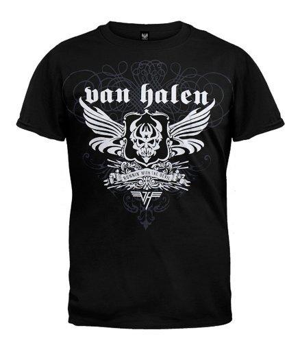 Van Halen B&W Winged Devil T-Shirt