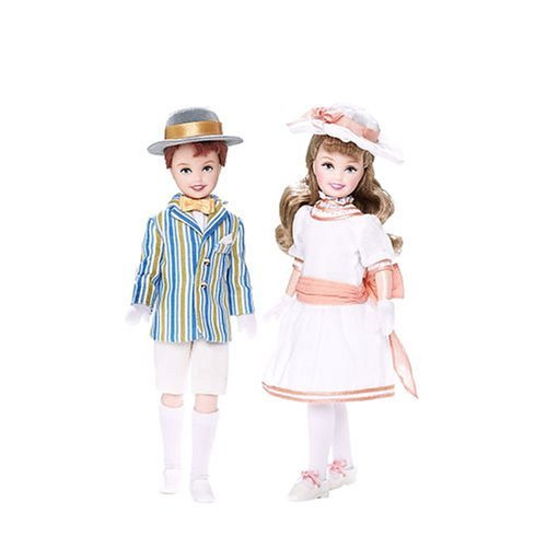 Barbie Mary Poppins Conjunto Niños Jane & Michael