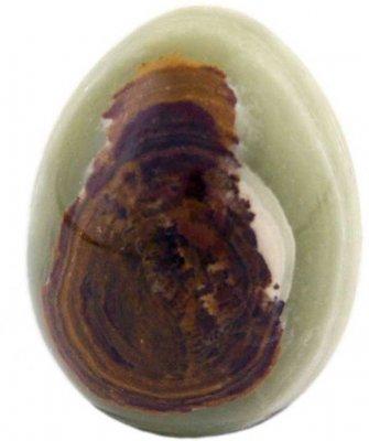 budawi® - Onyx-Marmor Steineier ca. 4 x 5cm, Marmoreier