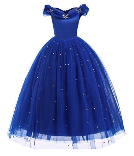 AOGD Mädchen Prinzessin Kleid Blumenmädchen Kleid Prinzessin Kinder -
