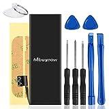 Mbuynow Batterie Interne pour iPhone 5s, Batterie 1560mAh en Lithium-ION Rechargeable de Remplacement pour iPhone 5s avec Kit de Outils