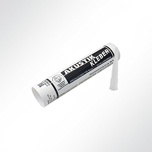 Akustikkleber Montagekleber für Absorberplatten weiß 310ml Kartusche