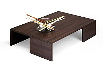 mobilifiver Rachel Table Living Room, Wood, Dark Oak, 90.0x 60.0x 21.0cm produced by Mobilifiver - quick delivery from UK.