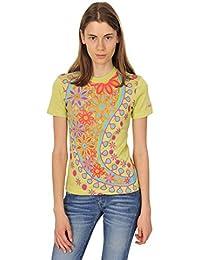 Gas Tshirt Damen Hellgrün L