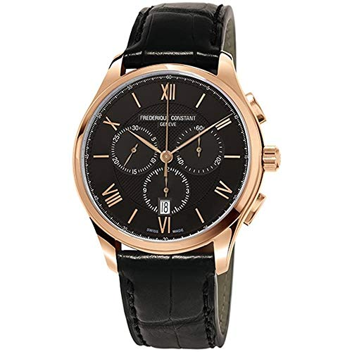 Frederique Constant Men's Classics 40mm Leather Band Quartz Watch FC-292MB5B4