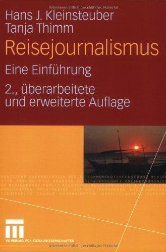 Reisejournalismus: Eine Einführung (German Edition)