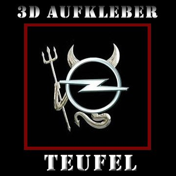 preisvergleich 3d chrom teufel logo aufkleber f r auto emblem pkw willbilliger. Black Bedroom Furniture Sets. Home Design Ideas