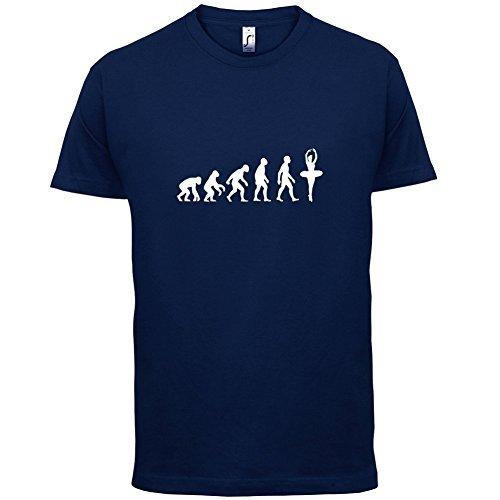 Evolution of Man - Ballett - Herren T-Shirt - 10 Farben Dunkelblau