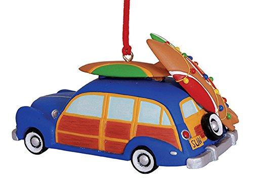 Woody Strand-Motiv Surfboards mit verziert, Weihnachts-Dekoration Cape Shore -