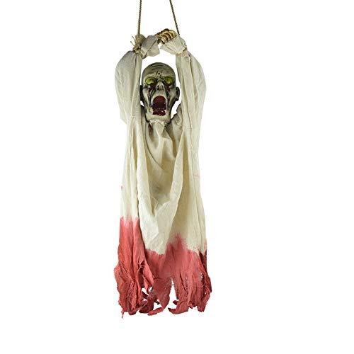 ationen, Horror Secret Room Requisiten, Zombieszenen, Hängende Geister, Gebundene Hände, Glühendes Schreien,White ()