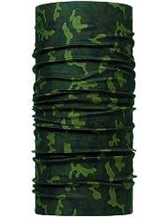 Buff  Multifuncional Pañuelo multifuncional, Unisex, Multicolor (Green Hunt), Talla única
