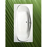 Badewanne GARDA 190x90cm Komplett Mit Wannenschürze, Ablaufgarnitur,  Wannenfüssen Und Wandverankerung