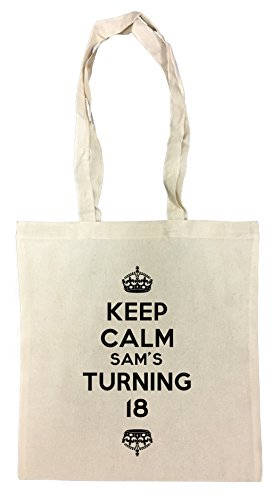 keep-calm-sams-turning-18-borsa-della-spesa-riutilizzabile-cotton-shopping-bag-reusable