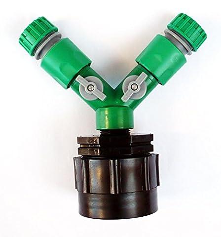 Generic dyhp-a10-code-3975-class-1-- robinets & Femelle CTRS C/W Raccords sur/OFF F Adaptateur de robinet (H/D) à 2x 1/5,1cm à 2x 1/sur tuyau d