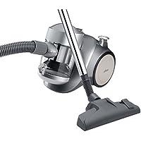Ufesa AS2300 Activa - Aspirador sin bolsa, filtro EPA lavable, color gris plata y
