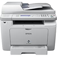 Epson WorkForce AL-MX200DNF All-in-One Monochrom-Laserdrucker (1200x1200 dpi, 256MB interne Speicher, USB) grau