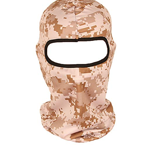 LKXHarleya Outdoor Dschungel Camouflage Serie Masken Fahrrad Winddicht REIT Masken Atmungsaktive Warme Kopf Wickeln