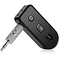 Ricevitore Bluetooth 4.1 Aibesser Wireless Auto Audio senza Fili, Musica Stereo con 3,5 mm Jack Audio per Smartphone