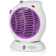 Orbegozo FH 5580 - Calefactor eléctrico de aire con movimiento oscilante, 2000 W de potencia