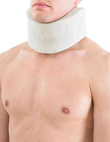 Neo G XXL Hellgrau Bambus, weiche Halsband (Bambus Halsband)