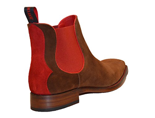 Jeffery West, Bottes pour Homme Honey/Red