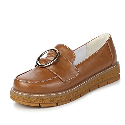 Le vent profond plats chaussures d'Angleterre/chaussures de simple étudiant/Collège vent faible B