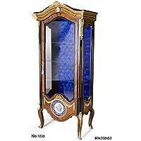 Comparador de precios Casa-Padrino Baroque Display Cabinet 80 x 53 x H. 200 cm - Baroque Living Room Cabinet - precios baratos